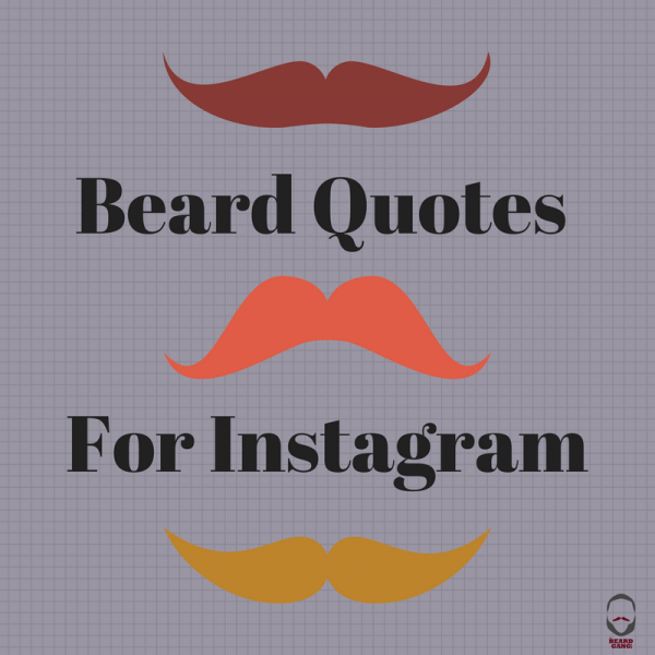 I Love My Beard Quotes For Instagram