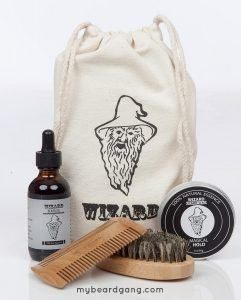 Top beard kit for african american - Wizard Beard Grooming Kit