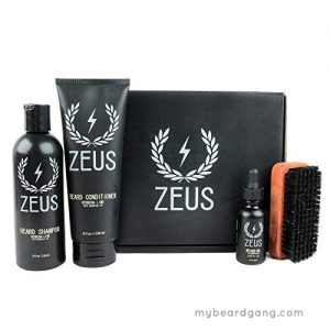 Top beard kit for african american - Zeus Deluxe Beard Grooming Kit