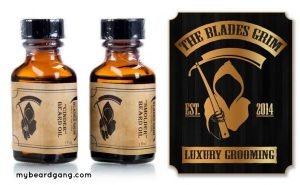 The Blades Grim Luxury Grooming Beard Oil
