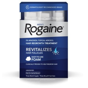 Rogaine for facial Hair Growth review