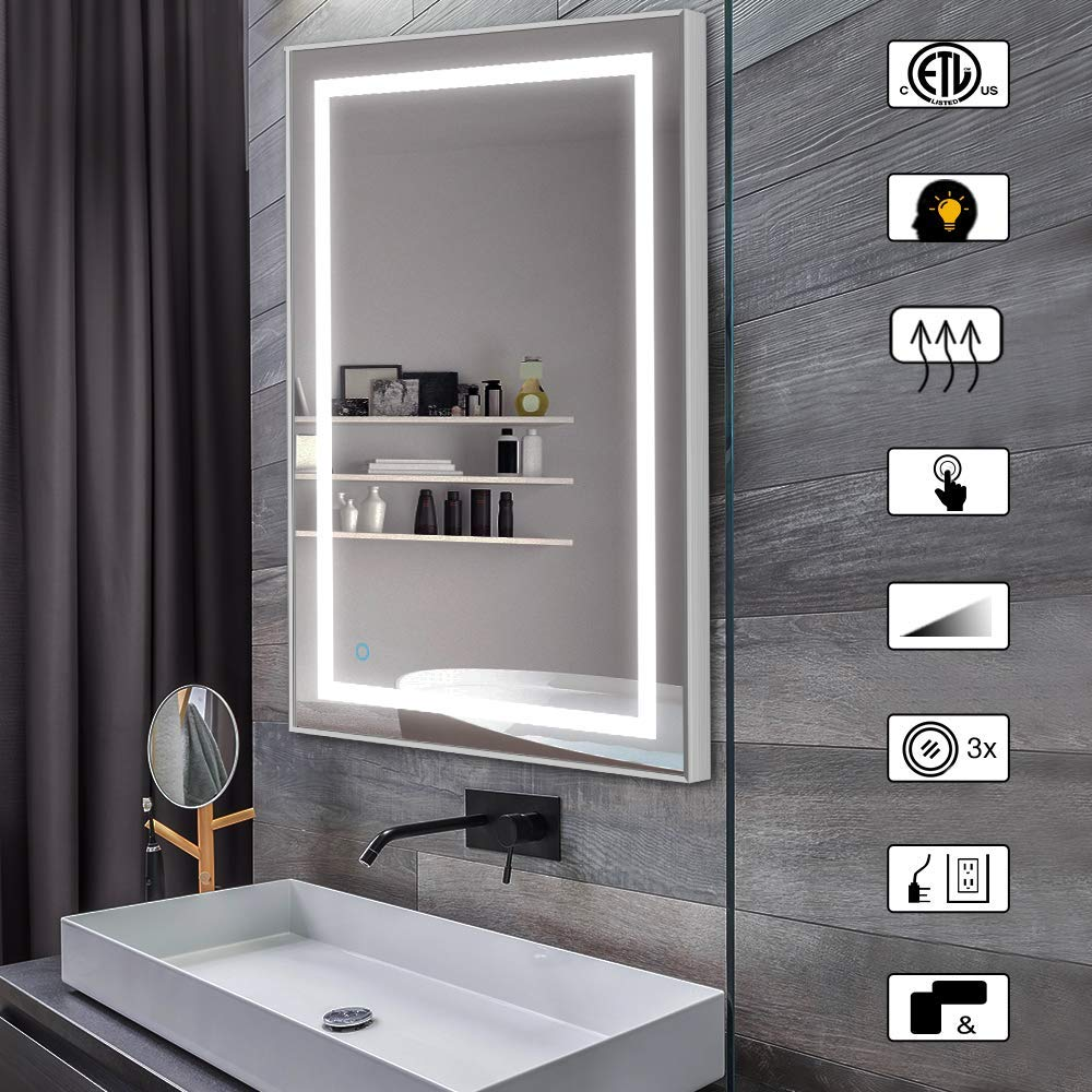 LED Bathroom Mirror With Bluetooth Speaker to Buy