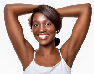 Laser hair removal for dark skin at home