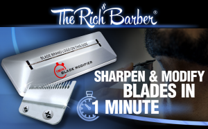 The Rich Barber 1 Minute Blade Modifier Sharpening Tool