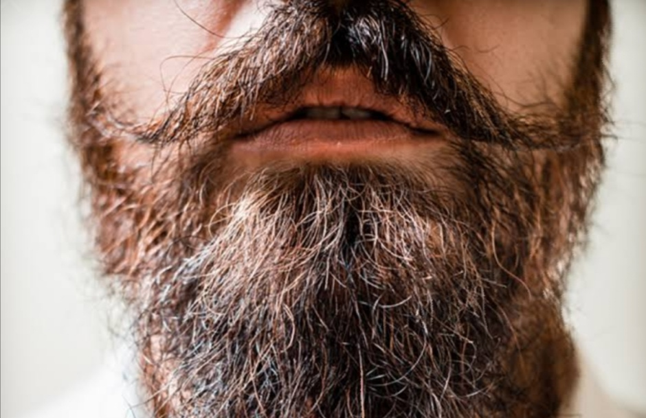 What can I put on my beard to make it lay down?